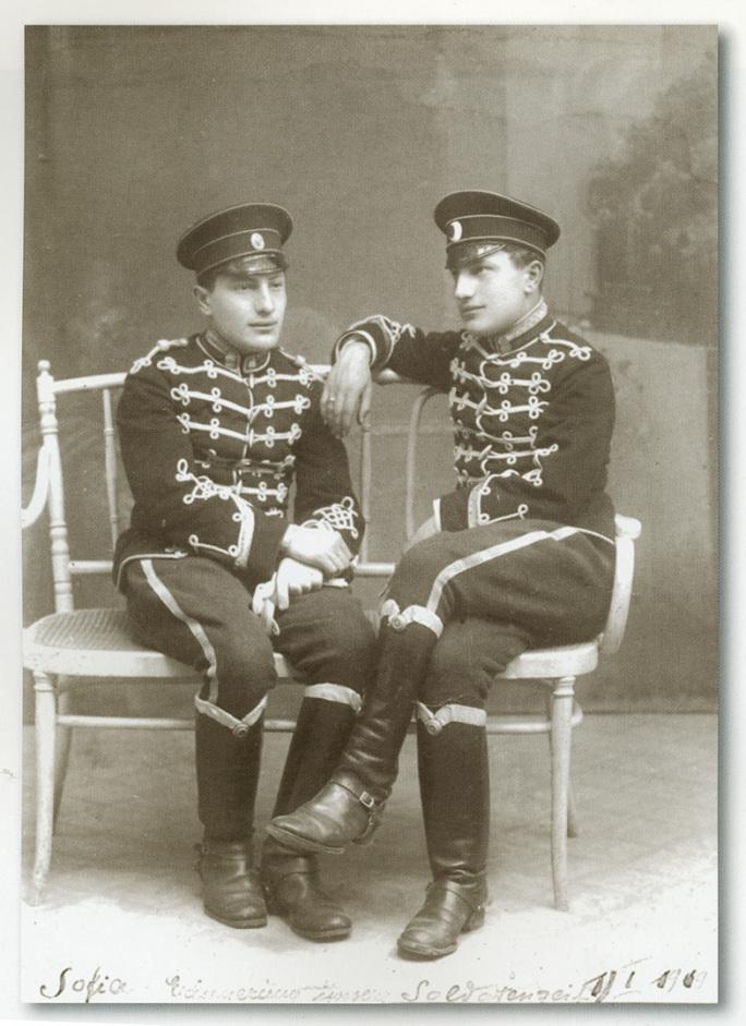 軍役時代のパンチョとリューベン
